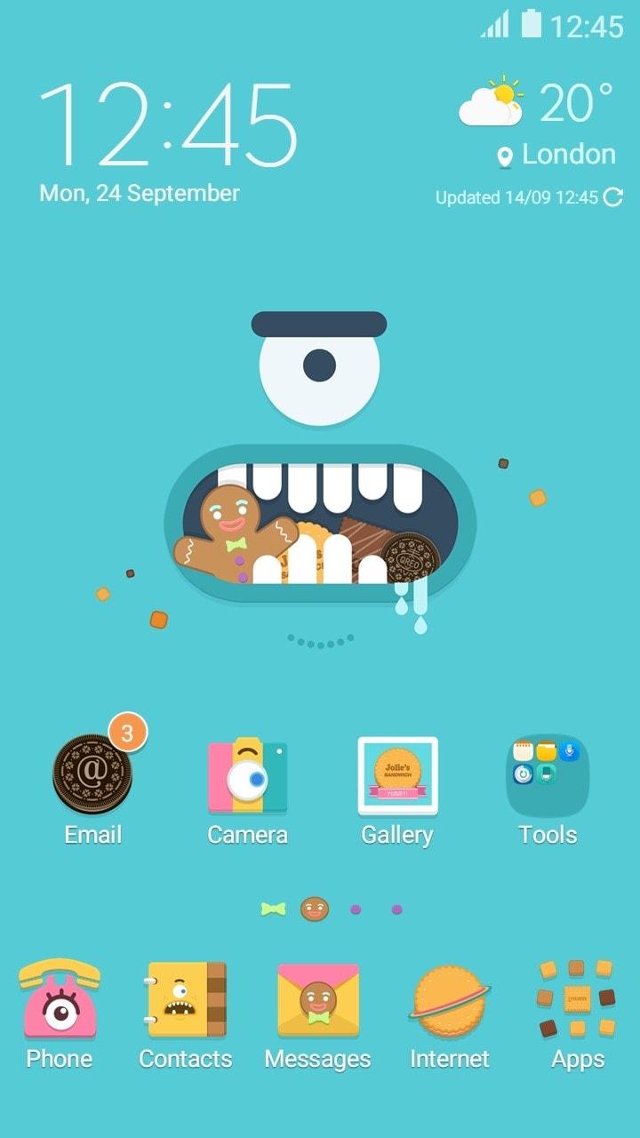 Samsung Themes.