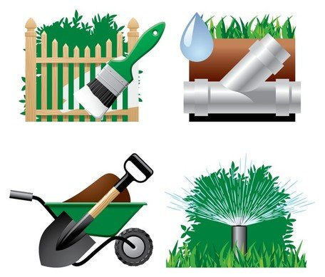 garden theme icon Clipart Picture Free Download.