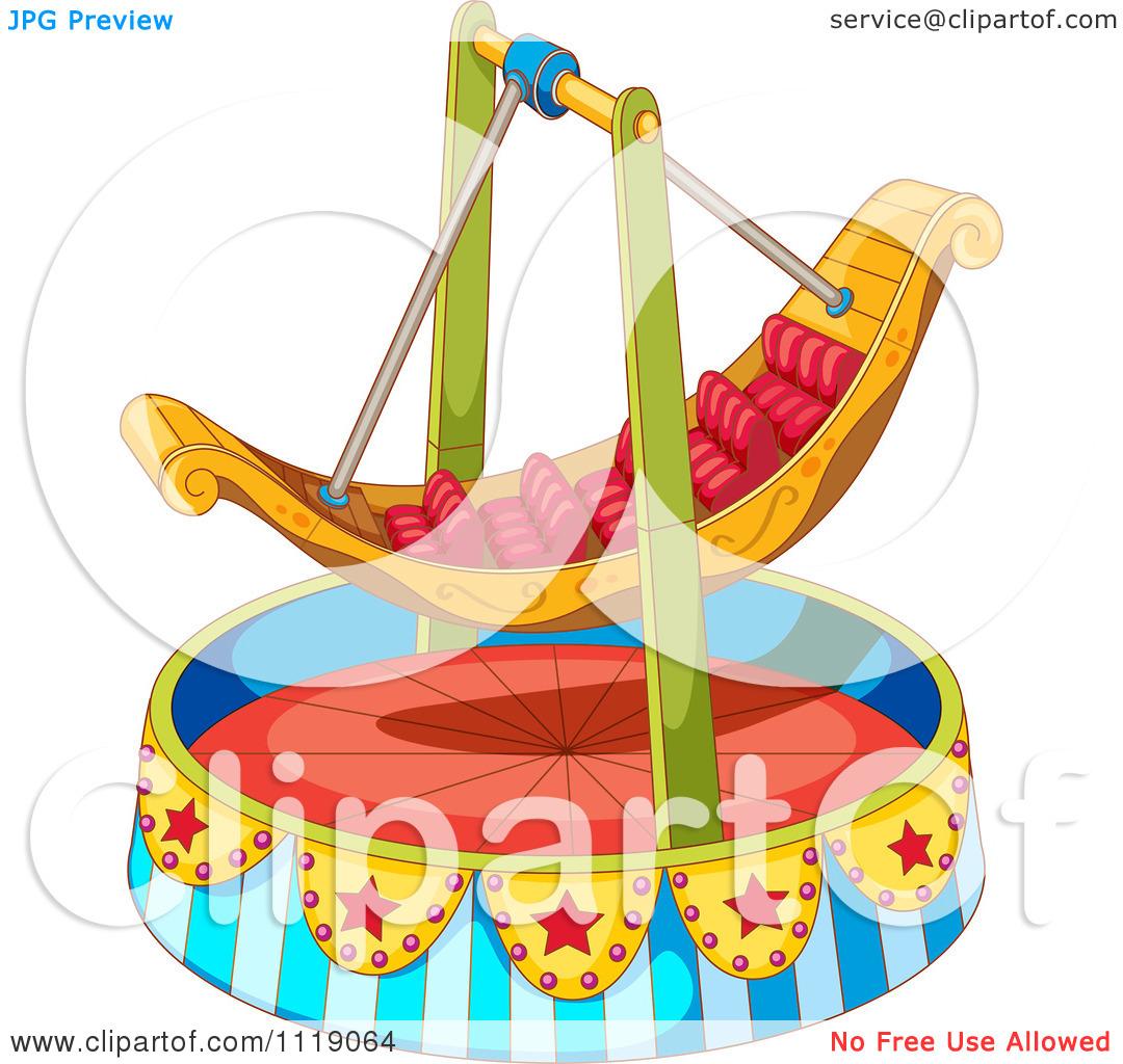 Amusement park rides clipart.