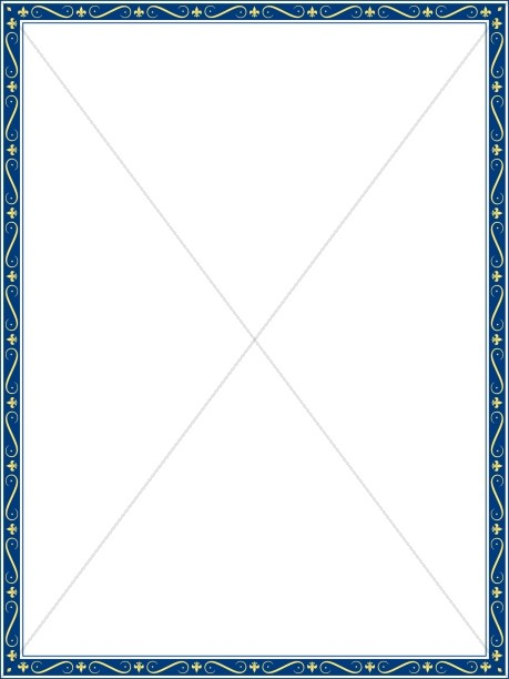 Blue thin border clipart images gallery for Free Download.