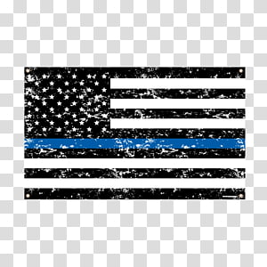 Thin Blue Line transparent background PNG cliparts free.