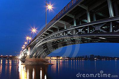 View Of A Beautifull Bridge In Berlin.