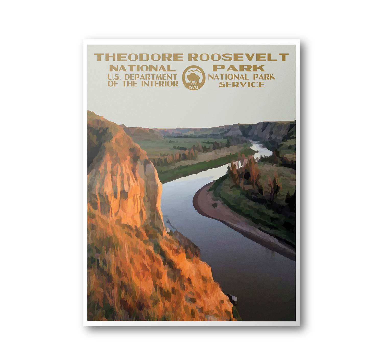 Theodore Roosevelt National Park Travel by PurpleMooseBasics.