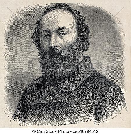 Clipart of Rousseau.
