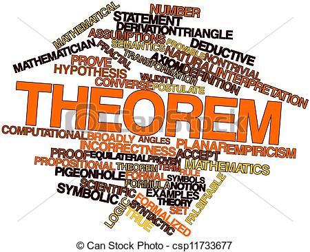 Stock Illustrations of Theorem.