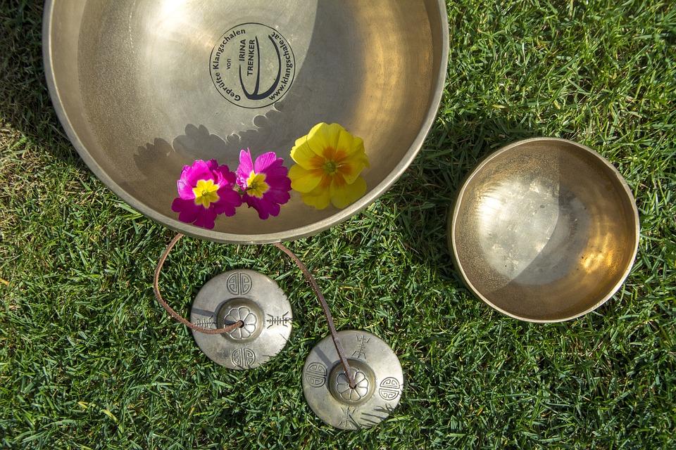 Free photo Singing Bowl Singing Bowls Singing Bowl Massage.