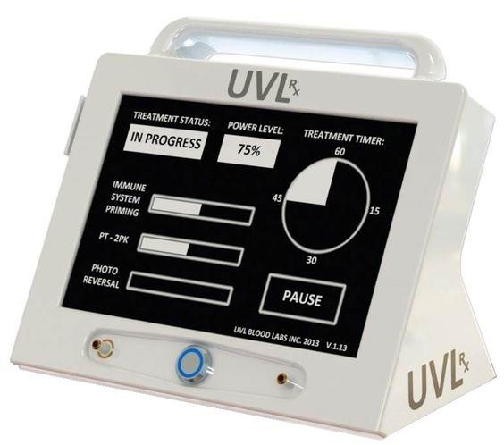 Ultraviolet Blood Irradiation (UVL) therapy , UVLrx Treatment.