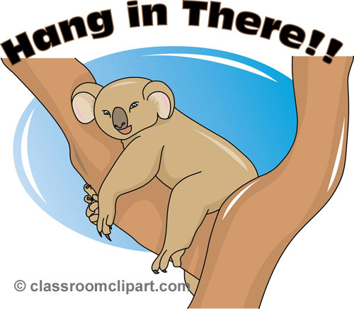 Hang in there clipart free.