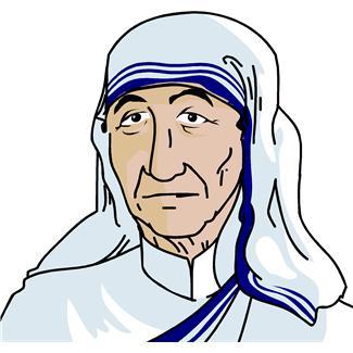 Teresa Clipart, Mother Teresa Free Clipart.