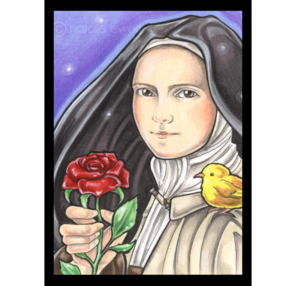 St therese the child jesus clipart.