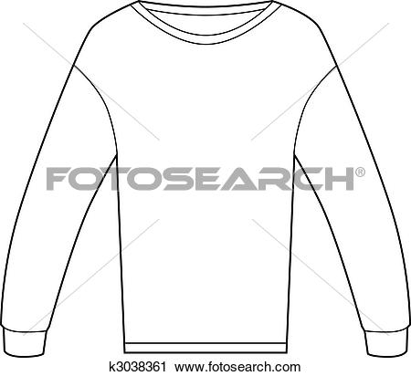 Clipart of Thermal Shirt k3038361.