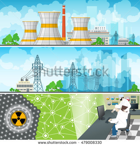 Near Nuclear Plant Power Stock Photos, Royalty.