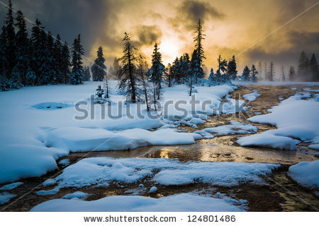 Yellowstone Park Stock Photos, Royalty.