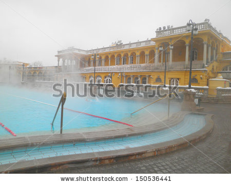 Thermal Baths Stock Photos, Royalty.