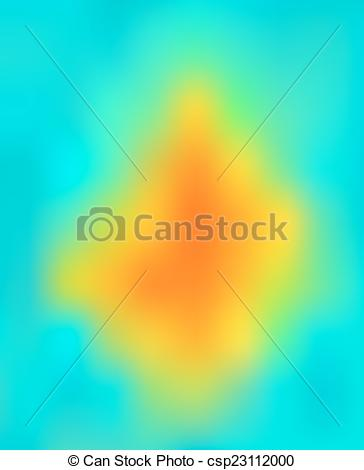 Vector Clipart of thermography background.