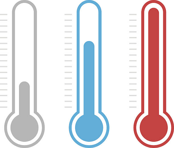 Thermometer clipart.