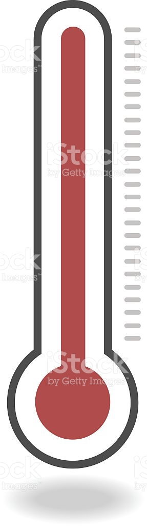 Thermometer Icon stock vector art 501593584.