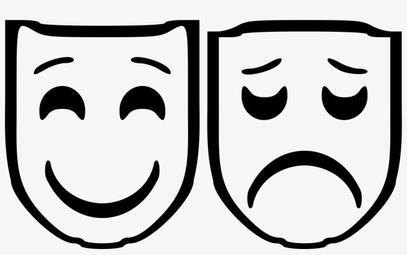 Drama Mask Clip Art.