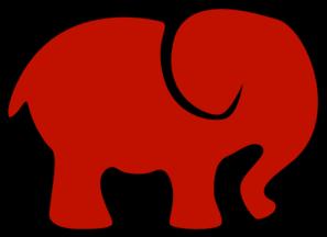 Delta Sigma Theta Elephant Clipart.