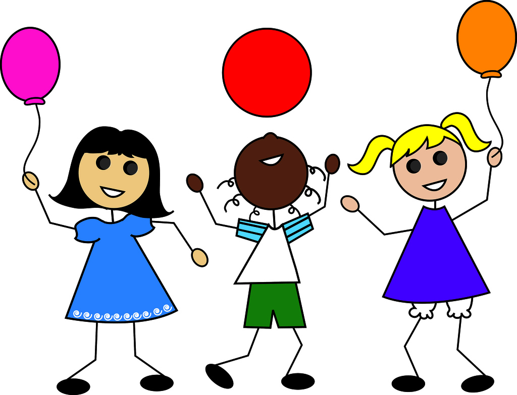 Kids Playing Clipart.