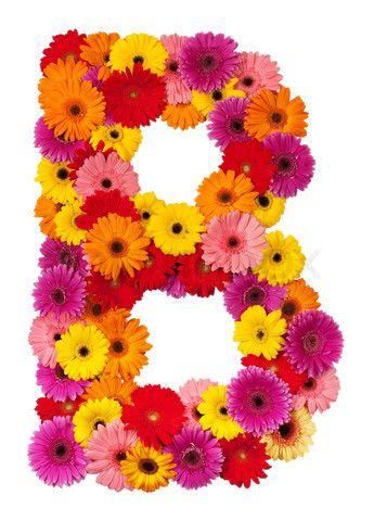 Flower Letters.