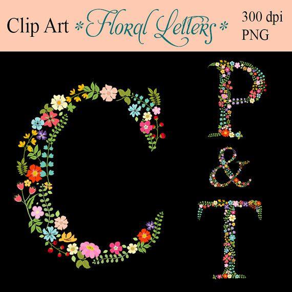 1000+ images about Floral Alphabet on Pinterest.