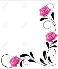 Rose vines.
