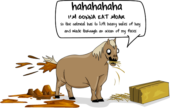 Why we should be eating horses instead of riding them.