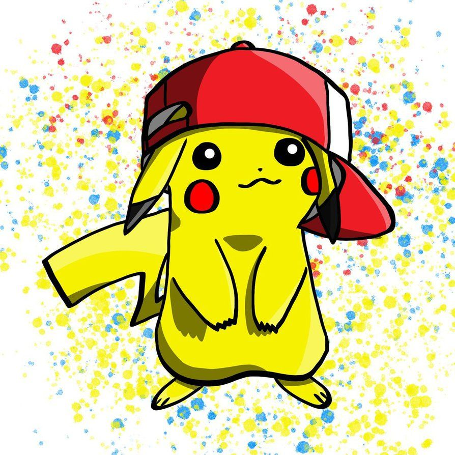 Pikachu Pop art by FancyFurret on DeviantArt in 2019.