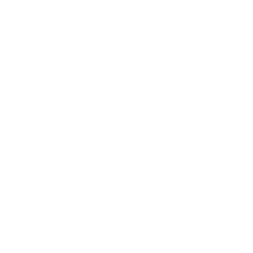 White circle outline icon.
