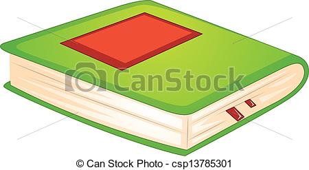 Clipart thick book.