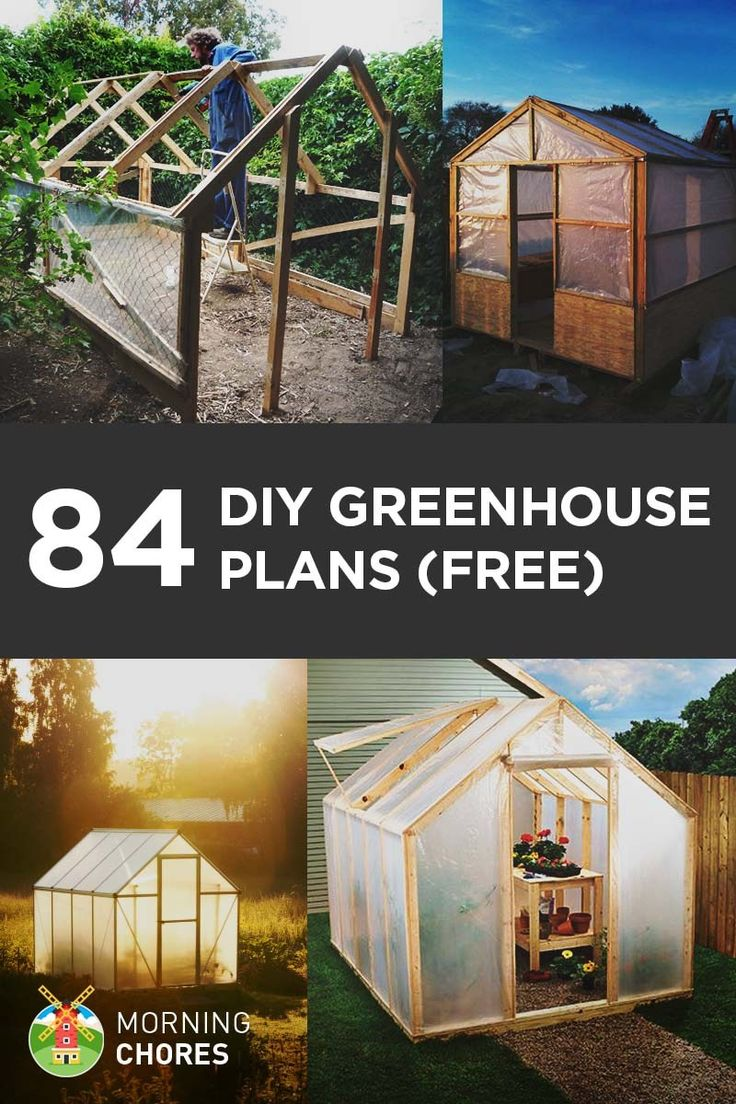 78+ ideas about Diy Greenhouse Plans on Pinterest.