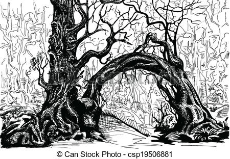 Thicket Clip Art and Stock Illustrations. 983 Thicket EPS.