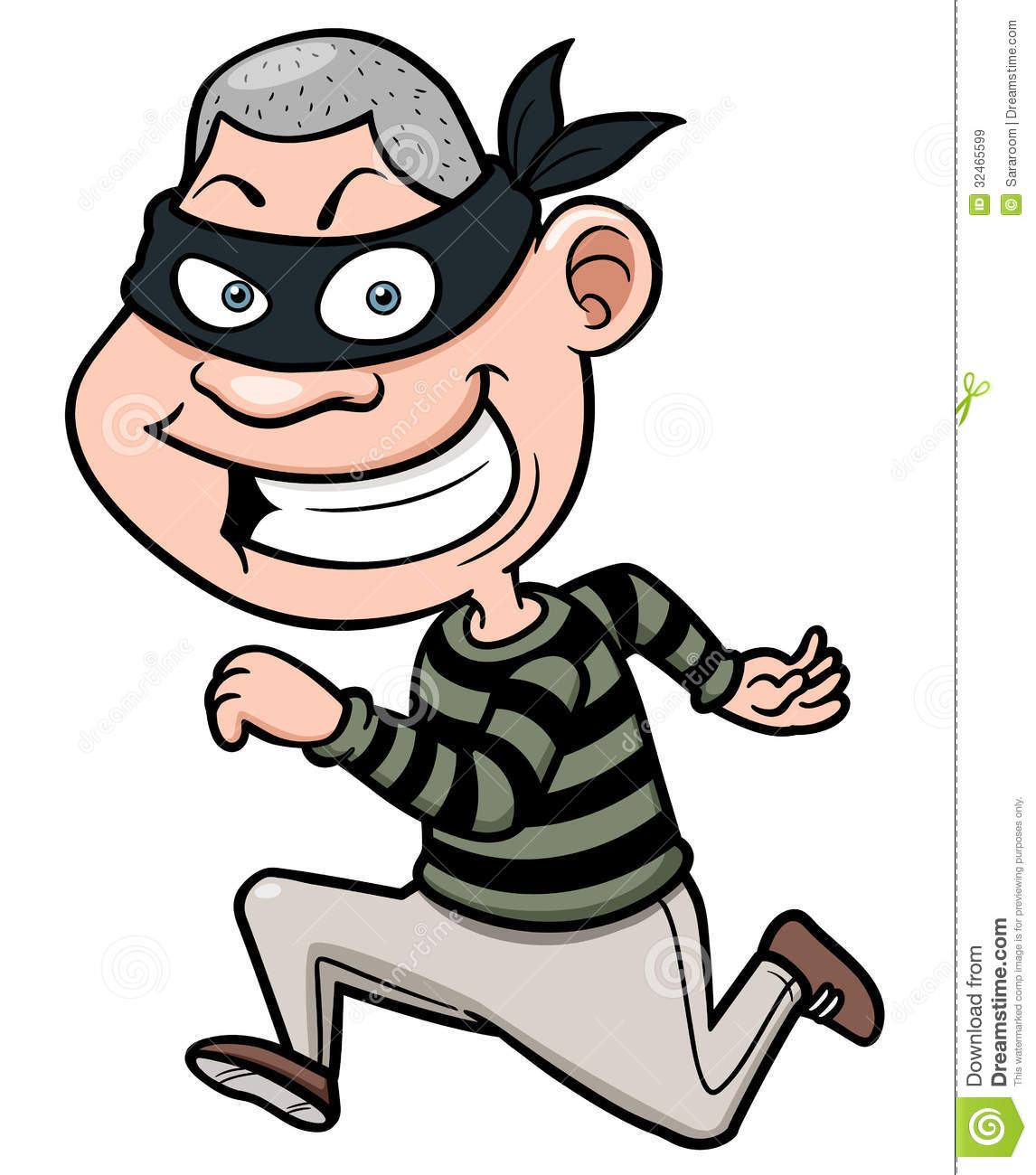 Thief clipart #10