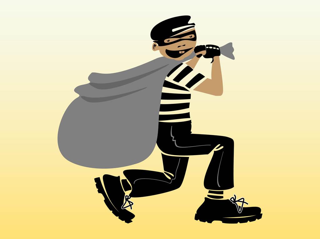 Thief clipart #12