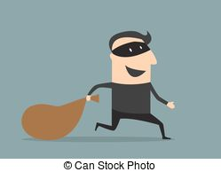 Thief in the night Vector Clip Art Illustrations. 15 Thief.