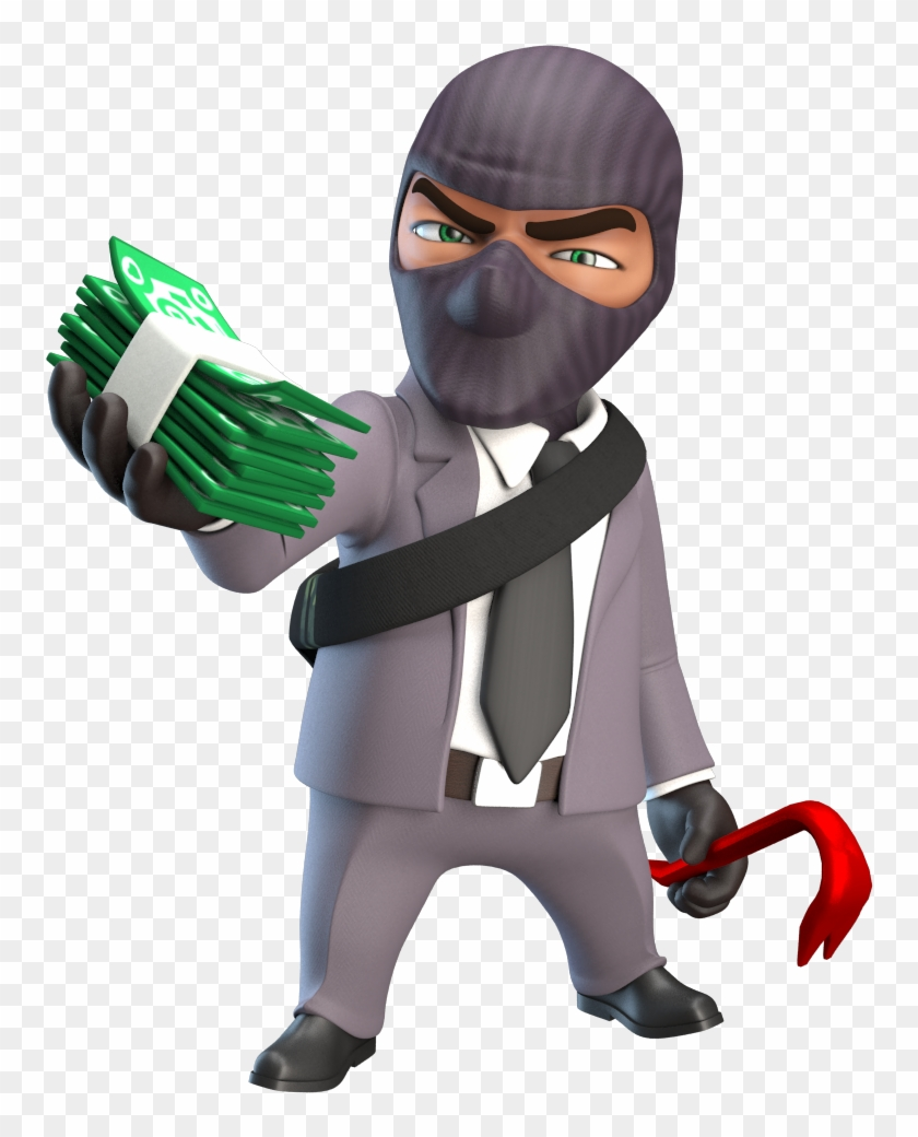 Thief, Robber Png, Transparent Png.