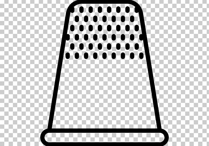 Thimble Computer Icons PNG, Clipart, Area, Black, Black And.