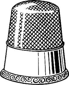 Free Thimble Cliparts, Download Free Clip Art, Free Clip Art.