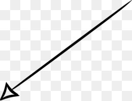Thin Arrow PNG.