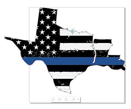 Back The Blue decal.