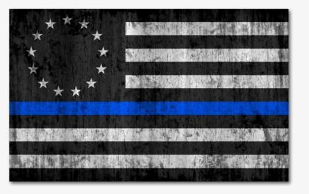 Blue Line Shamrock Flag, HD Png Download , Transparent Png.