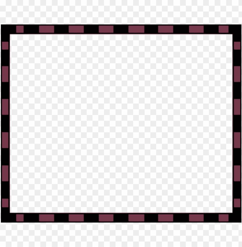 rectangular clipart thin border.