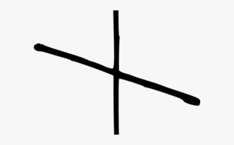 Thin Cross Png.