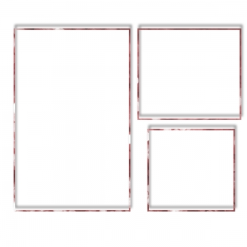 Thin Frame PNG Images.