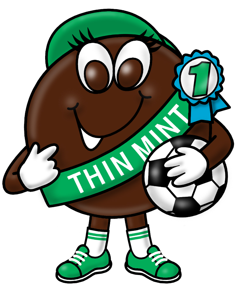 old school thin mint character.