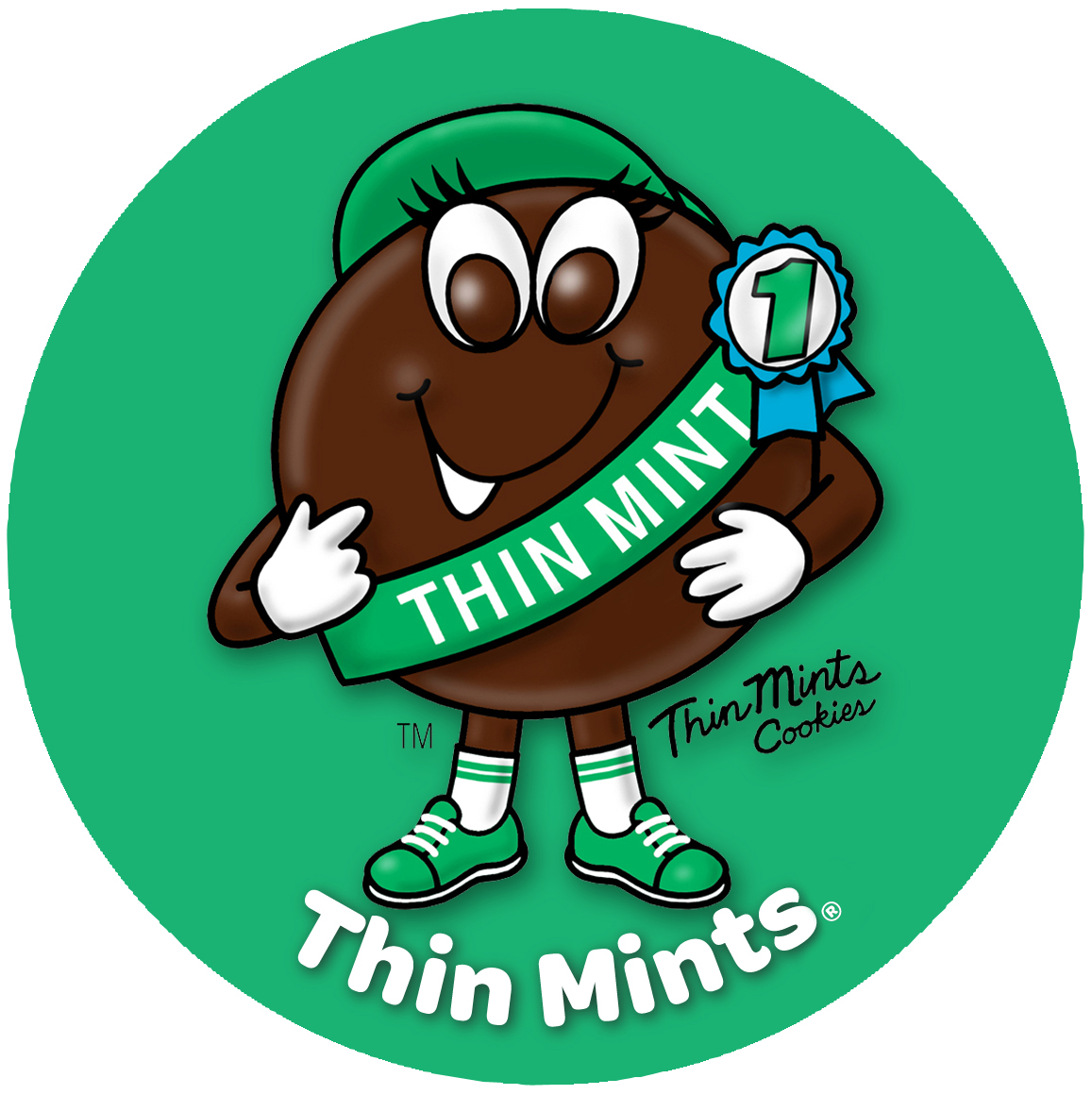 Thin Mint Clipart.