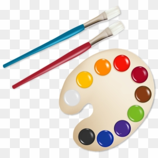 Free Paint Brush Clipart Png Transparent Images.