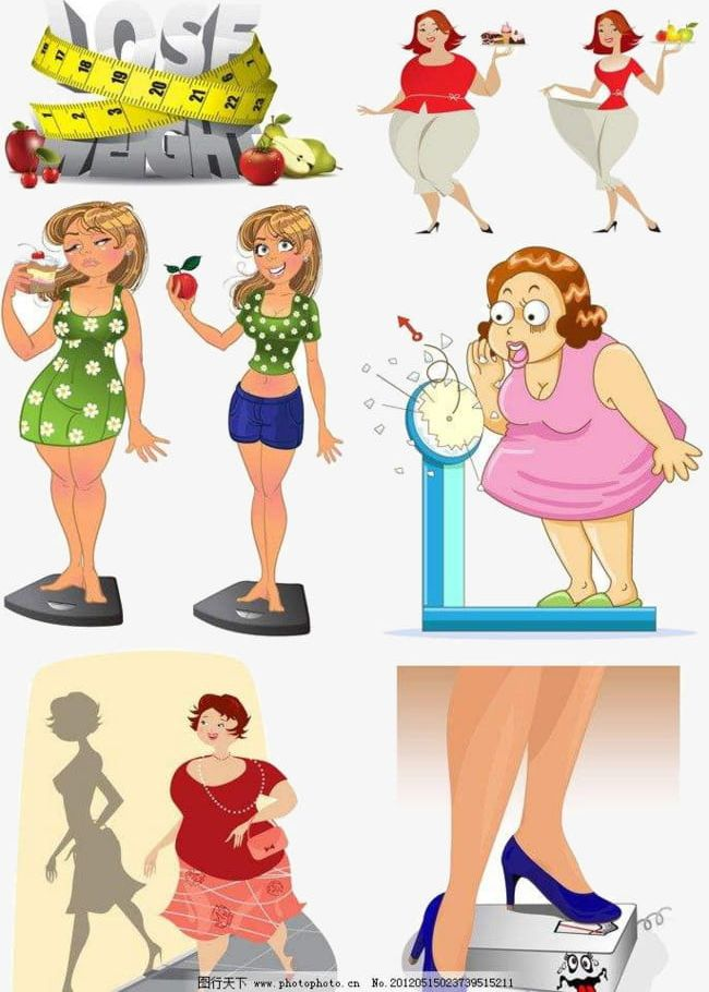 Thin And Fat People PNG, Clipart, Conversion, Decoration.