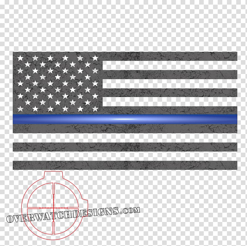 Flag of the United States The Thin Red Line Thin Blue Line.